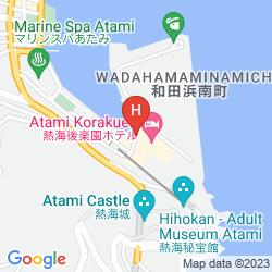 Map ATAMI KORAKUEN