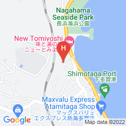 Map FONTAINE BLEAU ATAMI