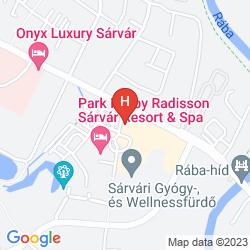 Map COUNTRY PARTNER THERMAL HOTEL PELIKAN