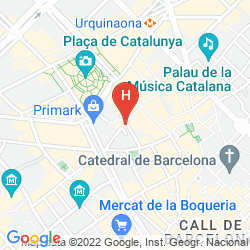 Map CATALUNYA