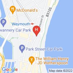 Map THE CUMBERLAND HOTEL