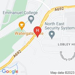 Map RAVENSDENE LODGE