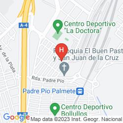 Map ILUNION ALCORA SEVILLA