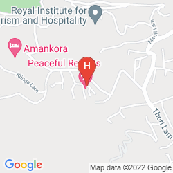 Map BHUTAN PEACEFUL RESORT