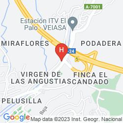 Map SERCOTEL MALAGA