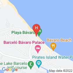 Map BARCELO BAVARO PALACE DELUXE