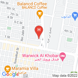 Map AL GOSAIBI
