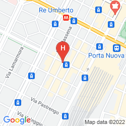 Map BEST WESTERN LUXOR