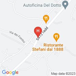 Map VILLA LA PRINCIPESSA