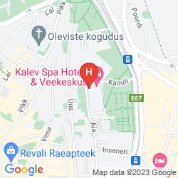 Map KALEV SPA HOTEL & WATERPARK