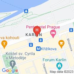 Map ROYAL PRAGUE