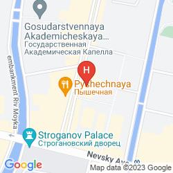 Map NEVSKY HOTEL GRAND