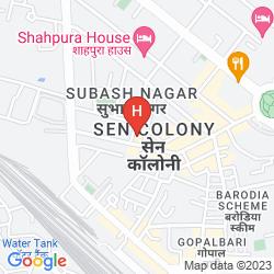 Map HOTEL MANSINGH (PREMIUM)
