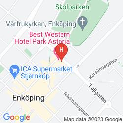 Map BEST WESTERN HOTEL PARK ASTORIA