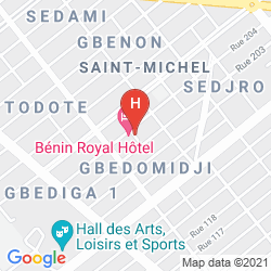 Map BENIN ROYAL