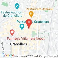 Map HOLIDAY INN EXPRESS BARCELONA-MONTMELO