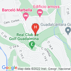 Map BARCELO MARBELLA