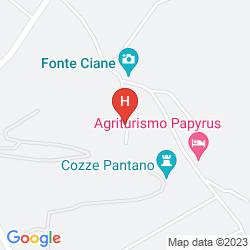 Map AGRITURISMO PAPYRUS