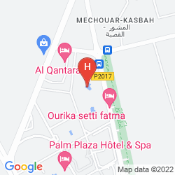 Map  MOGADOR PALACE AGDAL