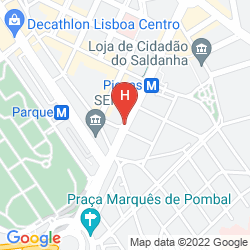 Map SANA LISBOA