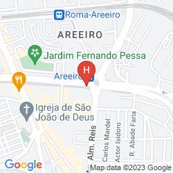 Map RESIDENCIAL LAR DO AREEIRO