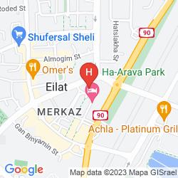 Map MERCURE MIRAGE