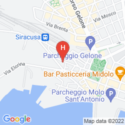 Map CENTRALE SIRACUSA