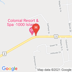 Map COLONIAL RESORT & SPA