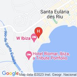 Map W IBIZA
