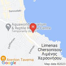 Map FLISVOS BEACH