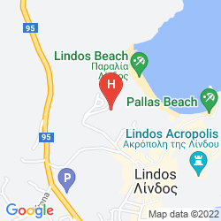 Map MITSIS LINDOS MEMORIES RESORT & SPA - ONLY ADULTS