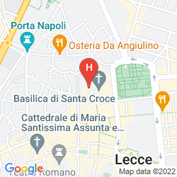 Map SANTACROCE LUXURY ROOMS