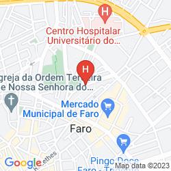 Map EVA SENSES HOTEL