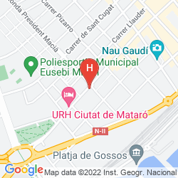 Map URH CIUTAT DE MATARO