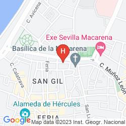 Map ALCOBA DEL REY DE SEVILLA