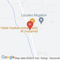 Map TORRE DE LOS GUZMANES