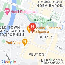 Map BOJA TOURS