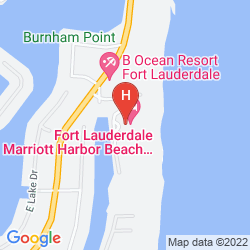 Map FORT LAUDERDALE MARRIOTT HARBOR BEACH RESORT & SPA