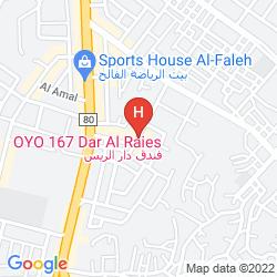 Map DAR AL RAIES HOTEL