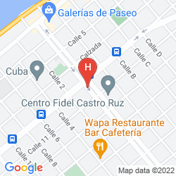 Map PASEO 206 BOUTIQUE HOTEL