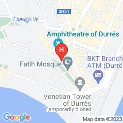 Map AMFITEATRI BOUTIQUE