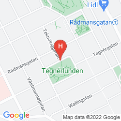 Map TEGNERLUNDEN