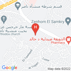 Map INTERCONTINENTAL CITYSTARS CAIRO