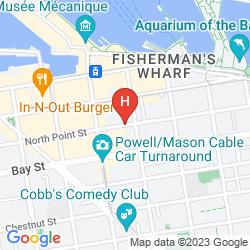 Map ZOE FISHERMAN'S WHARF