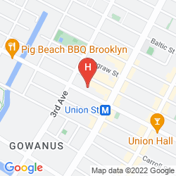 Map HOLIDAY INN EXPRESS NEW YORK-BROOKLYN