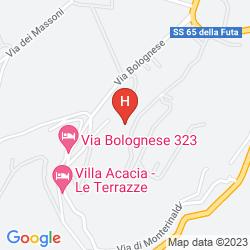 Map VILLA LE RONDINI