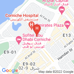 Map HAWTHORN SUITES BY WYNDHAM ABU DHABI CITY CENTRE