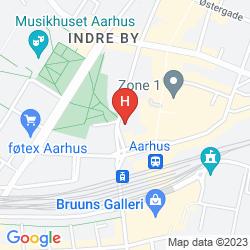 Map BEST WESTERN HOTEL RITZ