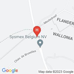 Map DOLCE LA HULPE BRUSSELS