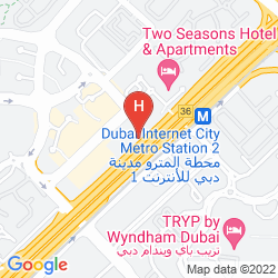 Map ALSALAM GRAND HOTEL APARTMENTS